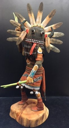 Mancos, Κολοράντο: Hopi BroadFace Whipper Kachina