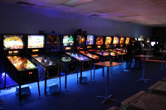 Tallahassee, FL: Flippin' Great Pinball in Railroad Square. About 35 pinball and arcade games available to play v