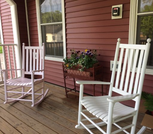 Colebrook, Nueva Hampshire: Porch