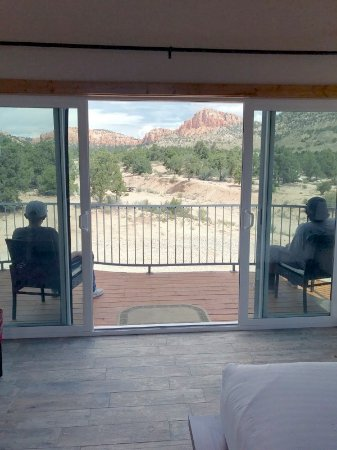 Stone Canyon Inn: View from The Treehouse