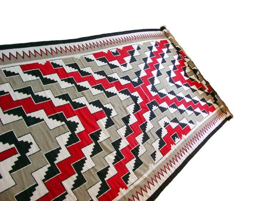 "Mancos, CO: Navajo Klagetoh Circa 1950 Purchased From Hubbel Trading Post. 8'9"" x 20'"