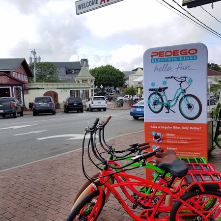Pedego Electric Bikes Martha's Vineyard