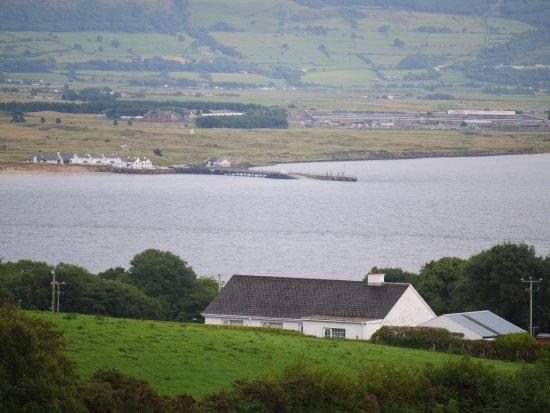 Greencastle, Ireland: Magilligan Point from Inishowen Head