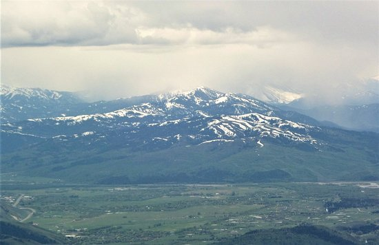 Teton Village, WY: A view from the top