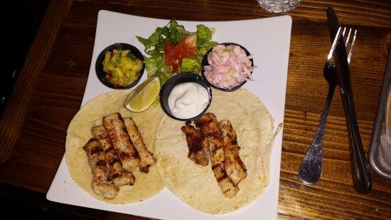 Agave Lucaya: Mahi tacos