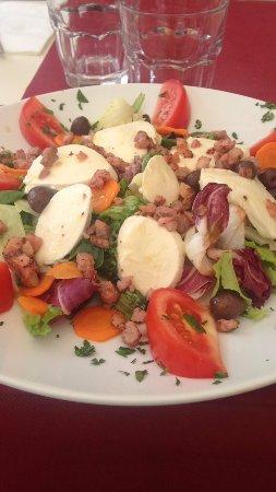 La Tavernetta : Salade mozzarella