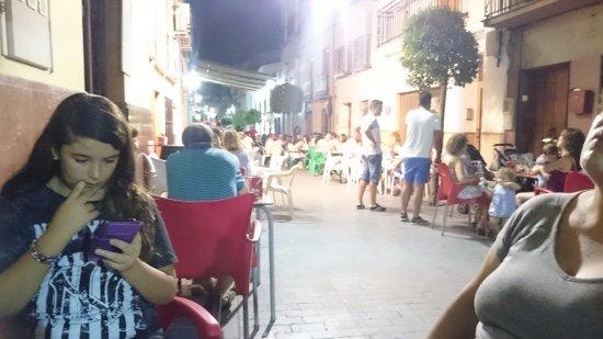 El Burgo, Испания: la calle