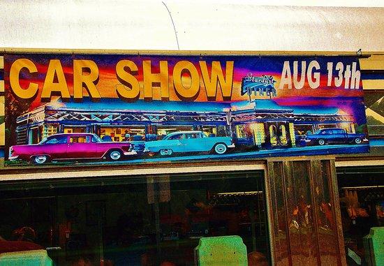 Stardust Diner Car Show