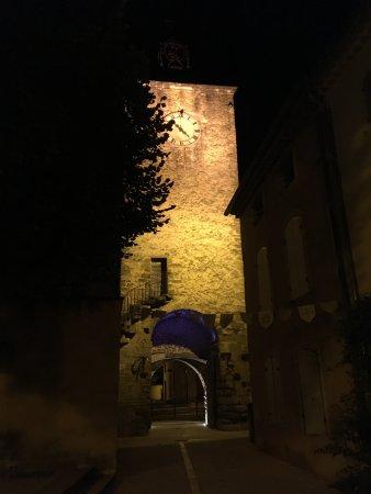 Richerenches, France: vue la nuit