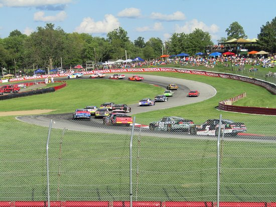 Mid Ohio Sportscar Course >> Views From Grandstand 2 At Mid Ohio For The Nascar Mid Ohio