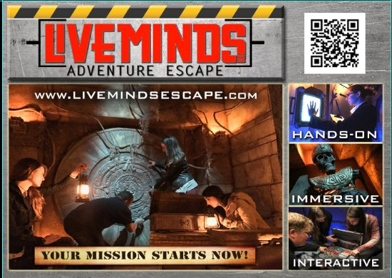 ‪Liveminds Adventure Escape‬