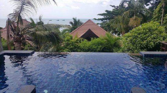 Nora Buri Resort & Spa: Private pool in the Beachside Seaview Pool Villa