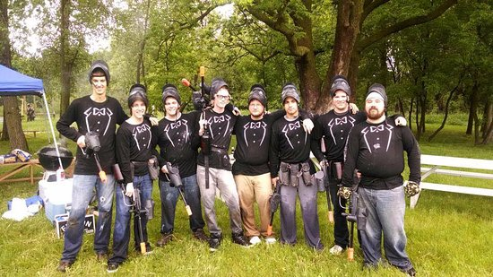 Jordan, MN: Paintball Bachelor Party