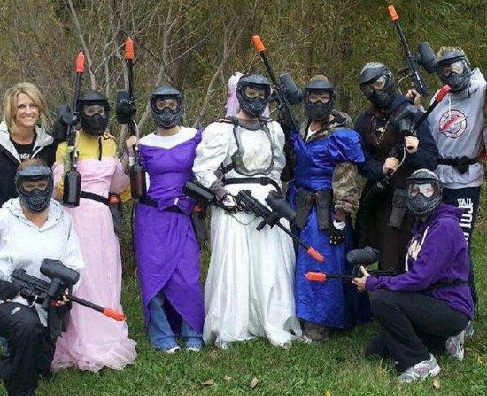 Action Packed Paintball
