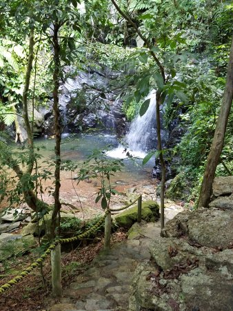 Placencia, Belize: Part of waterfalls