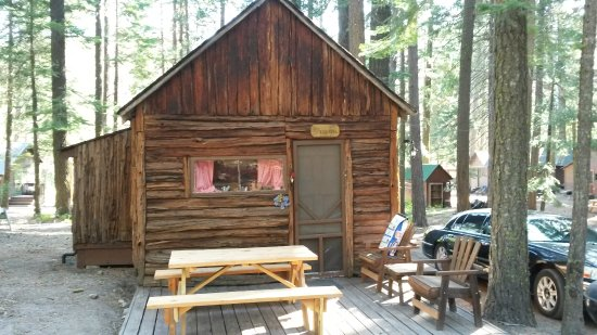Cromberg, Californië: The Squirell Cabin :D