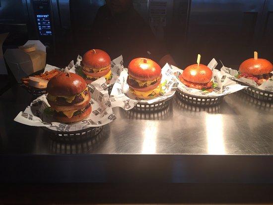 Eton, UK: One of the best burgers I've had