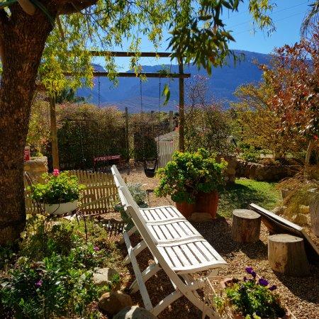 De Doorns, Sudafrica: View from restuarant garden