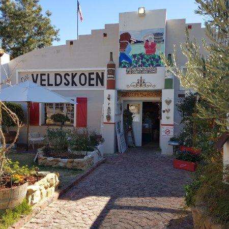 De Doorns, Sudafrica: Front entrance