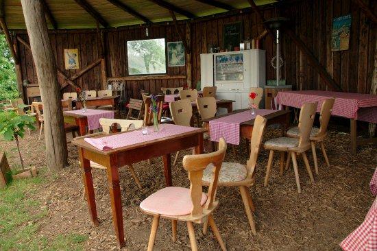 Bad Malente, Niemcy: Überdachter Sitzbereich