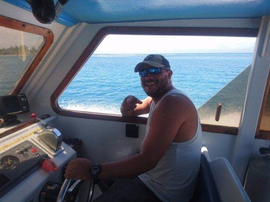 Utila, Honduras: Captain Joe!