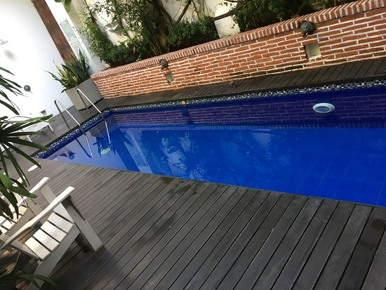 Casablanca Belle & Boutique: Ground level pool