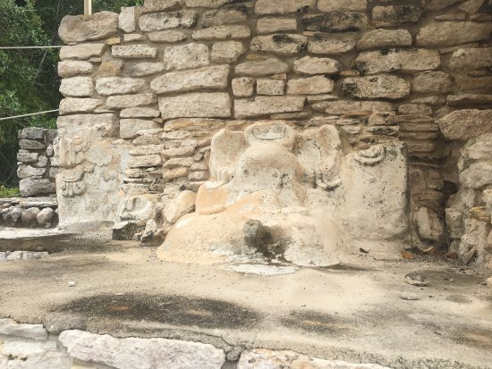 Yucatan, Meksika: Xcambo es una zona Arqueológica, interesante ya que por el Camino tienes la oportunidad de ver l