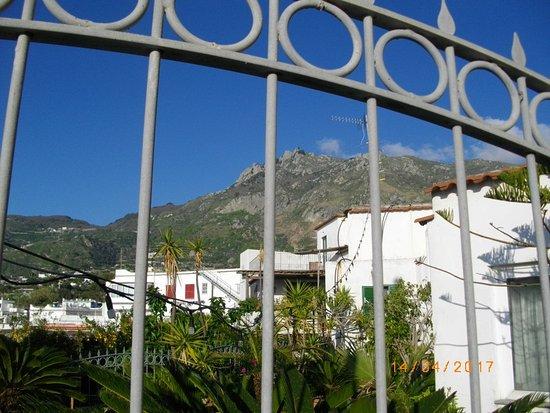 Panza, Italien: Blick auf den EPOMEO-Hausberg von Ischia- Cima D´Ischia