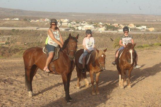 El Salobre Horse Riding: Lovely scenery