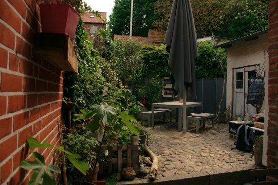 Plon, Alemanha: Lauschiger Innenhof