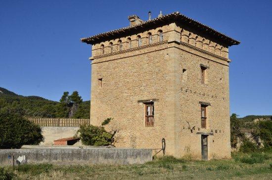 Penarroya de Tastavins, Espagne : Vista general de la masia