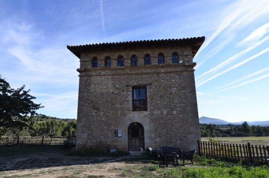 Penarroya de Tastavins, Espagne : Fachada de la masia