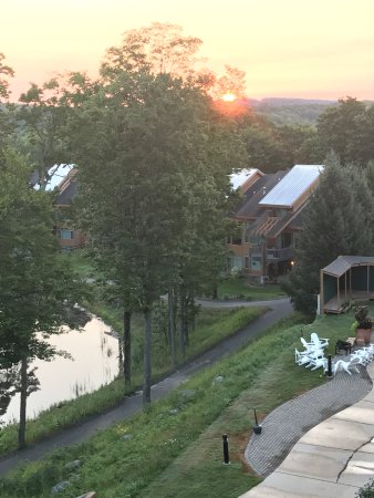 Bellaire, MI: View from our balcony - sunrise!