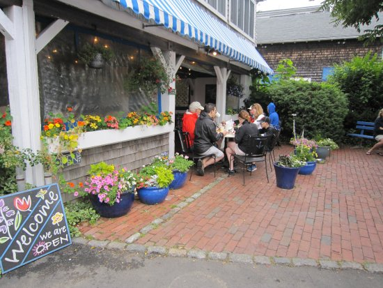 Among The Flowers Cafe Martha S Vineyard