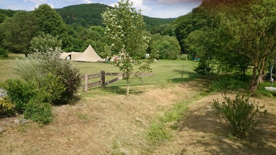 Wiltz, Luxembourg: Camping Berkel