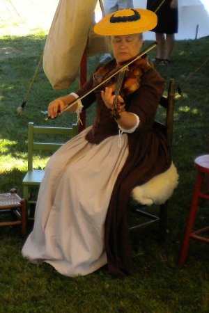 Fiddling and life as it was in 1776 in Exeter, NH.