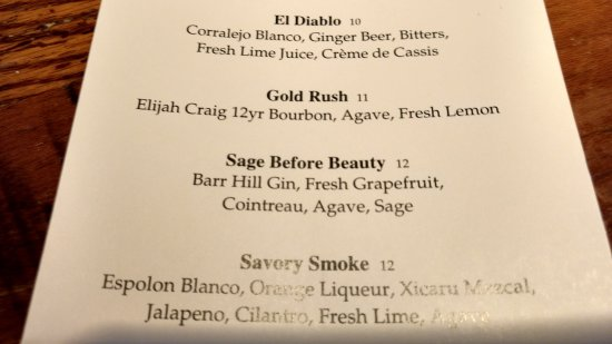 South Glastonbury, CT: drink menu