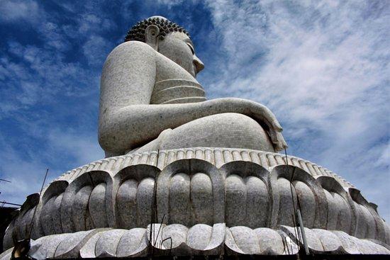 Chalong, Thailand: Big Buddha Side view
