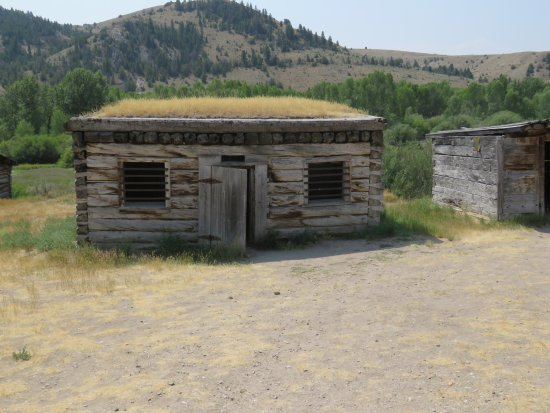 Bannack State Park: The old jail