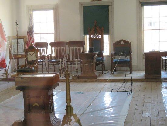 Bannack State Park: Masonic Lodge