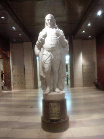 National Postal Museum: Ben Franklin