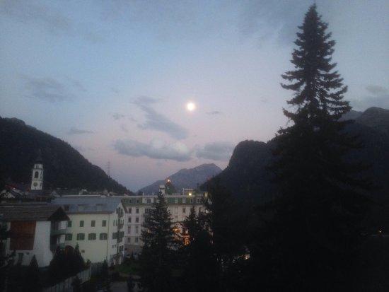 Hotel Schloss Pontresina Family & Spa: Vista dalla camera