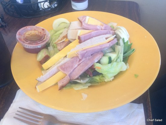 Lake Alfred, FL: Chief Salad
