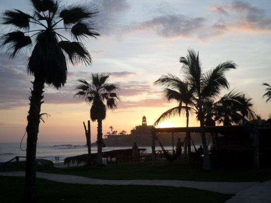 Todos Santos, Mexico: Sunset view from Cerritos Beach Club