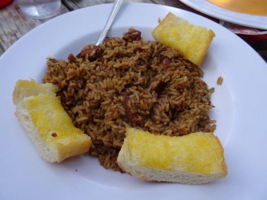 Frisco, CO: Freshly Cooked Jambalaya