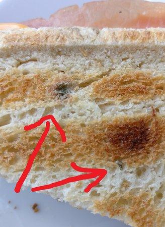 Houffalize, Belgium: Oud brood