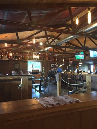 Hog Tide Bar-B-Que: Inside. I couldn't begin to count all the trophies and awards.