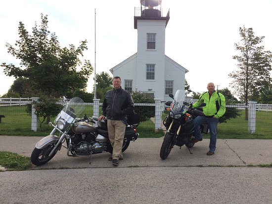 Escanaba, MI: Sand Point Lighthouse
