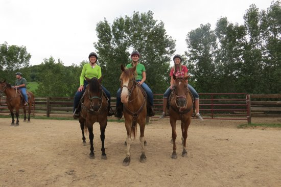 Beginner Trail Ride August 2017 Shenandoah Riding Center Galena IL