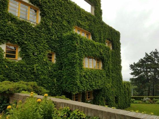 Muller Villa: The exterior. Photos not allowed inside :(